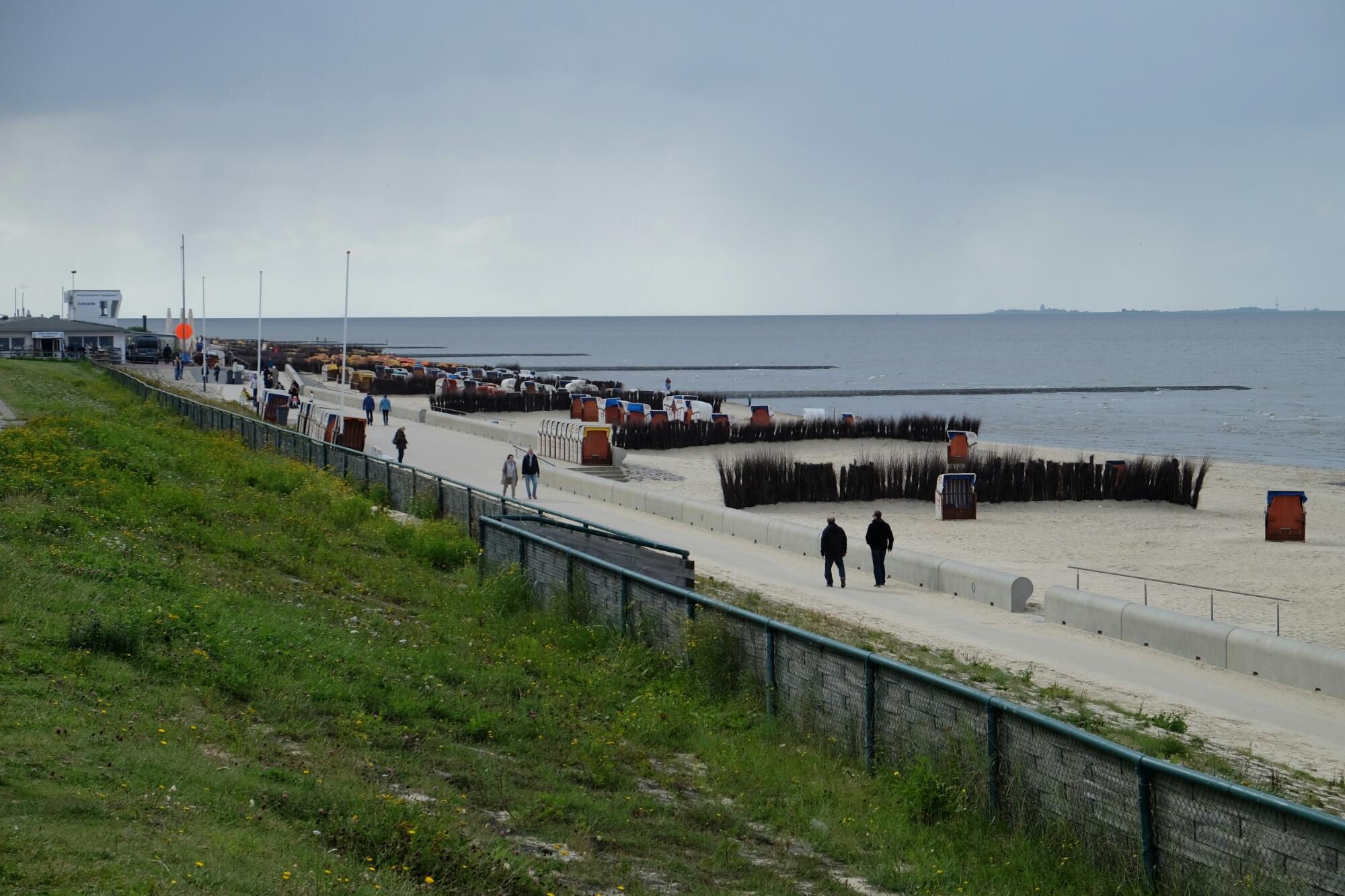 Strand von Cuxhaven