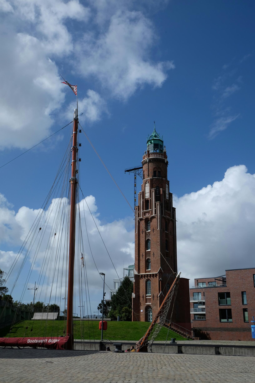 Schleuse an der Hafenmeile von Bremerhaven
