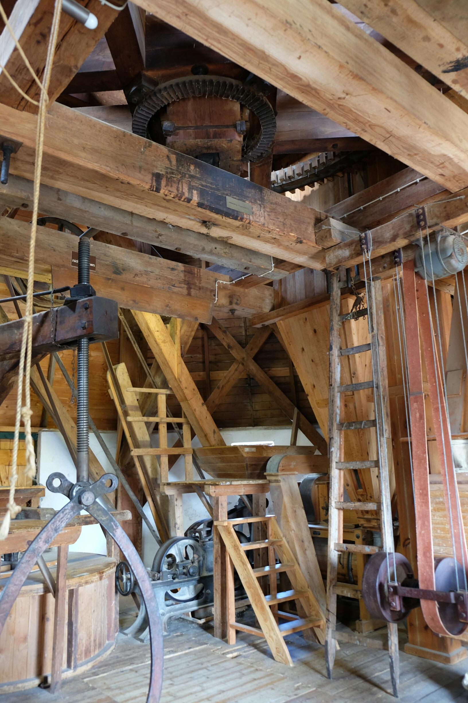 Im Innern der Moorseer Mühle