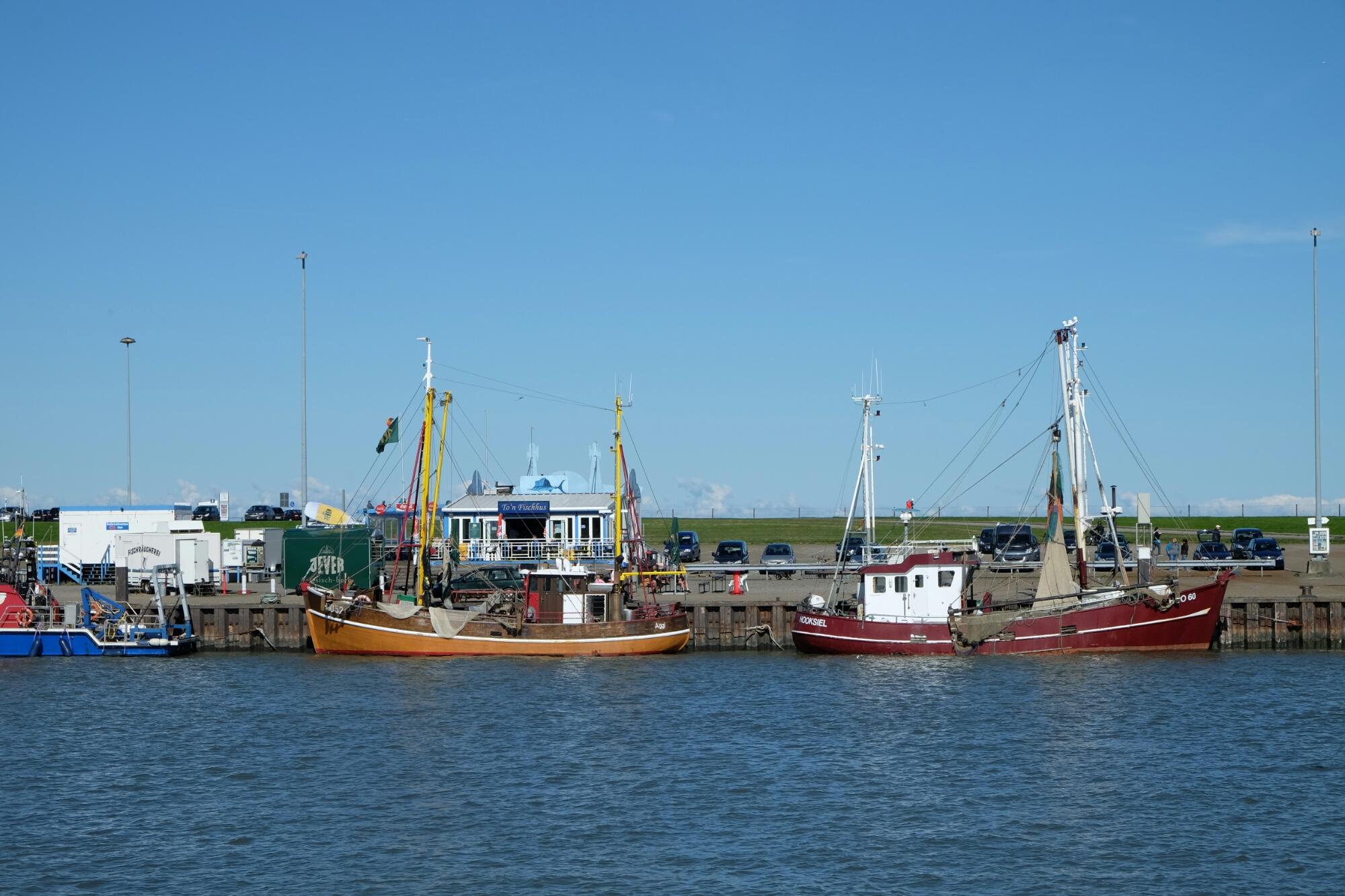 Aussenhafen bei Hooksiel