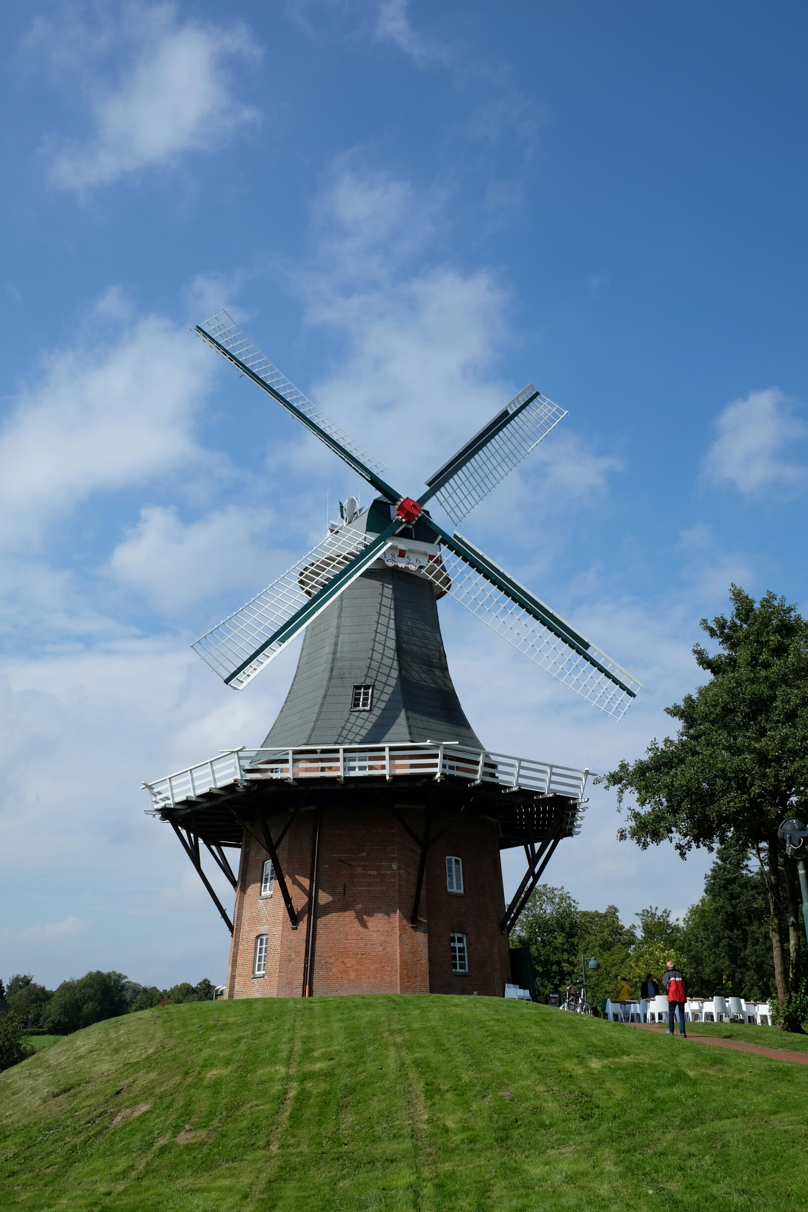 Windmühle in Greetsiel (Gallerieholländer)