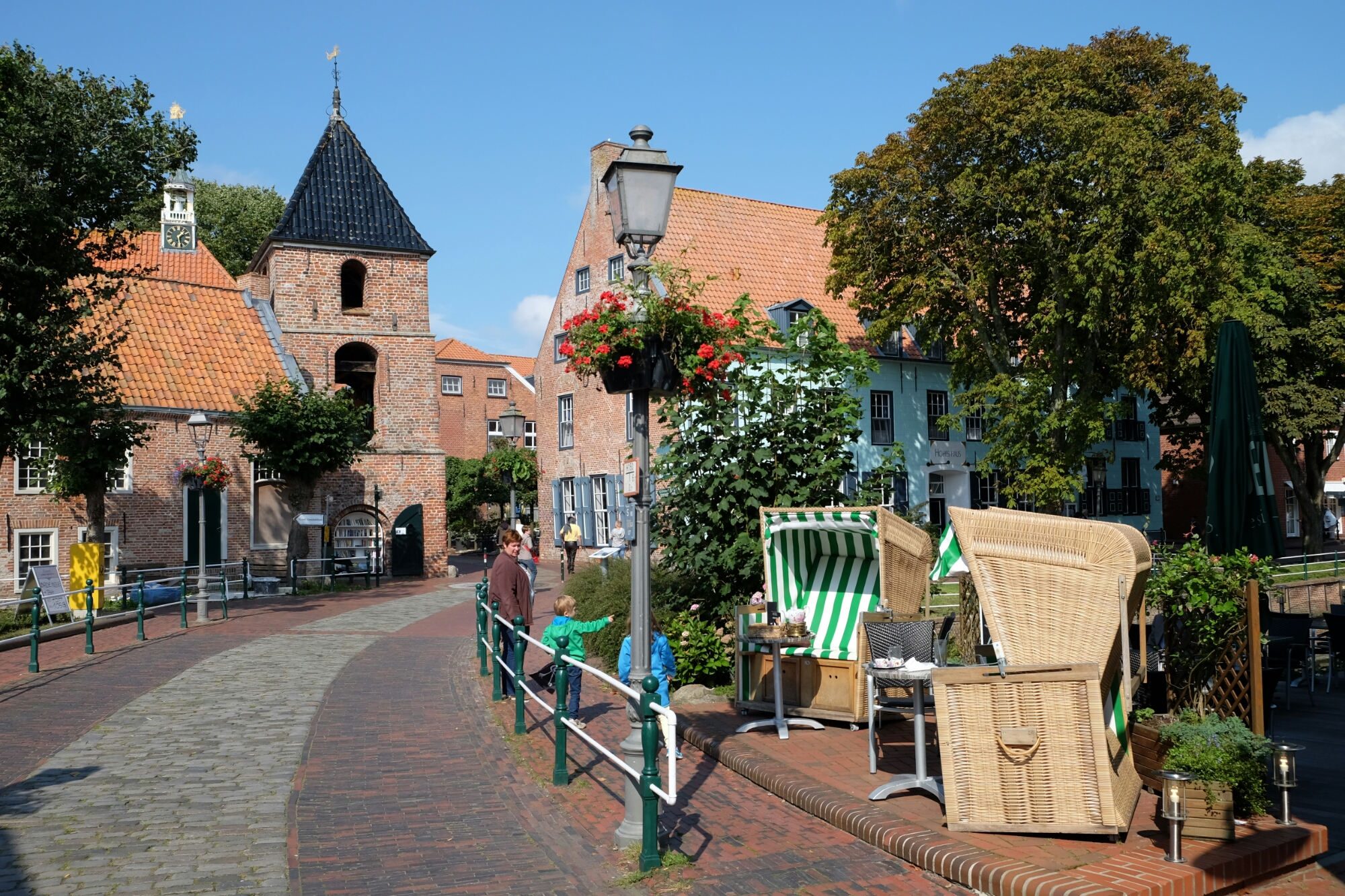 Strasse in Greetsiel