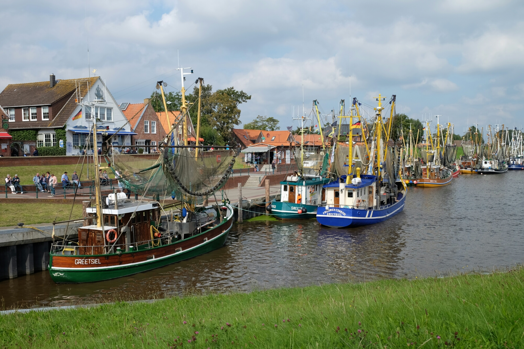 Krabbenkutter in Greetsiel