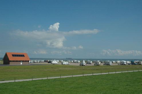 Wohnmobilhafen Camping Hooksiel