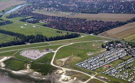 Luftaufnahme Camping Hooksiel