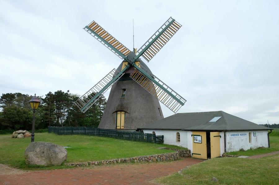 Mühlenmuseum bei Nebel (Amrum)