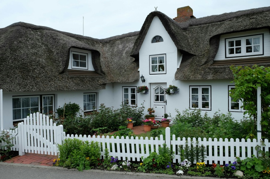 Haus in Nebel (Amrum)