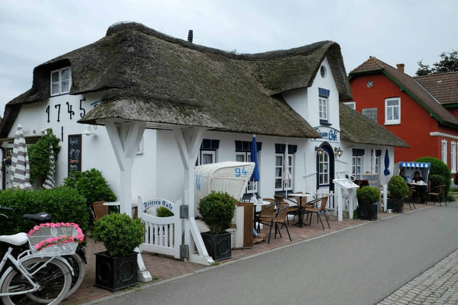 Friesen-Café in Nebel (Amrum)