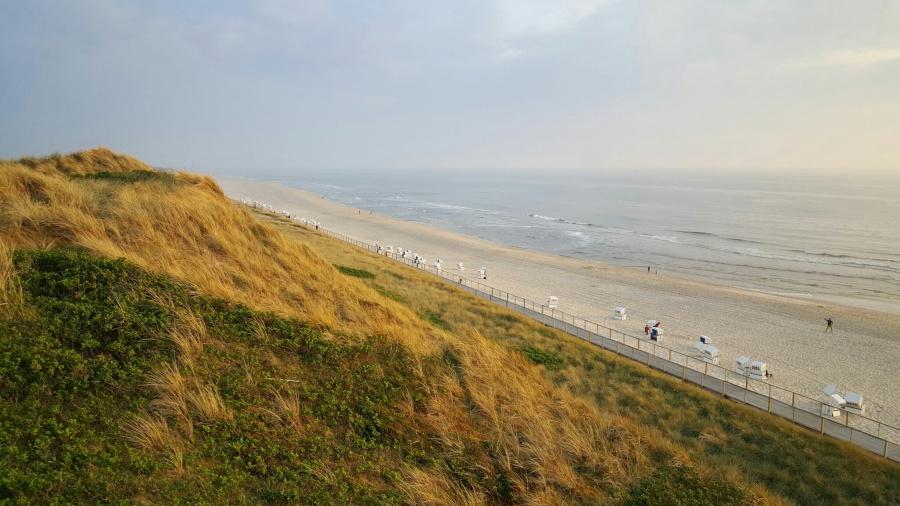 Ausblick von der Himmelsleiter in Westerland