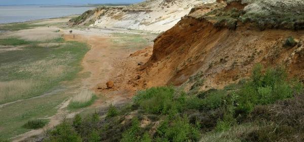 Blick vom Morsum-Kliff