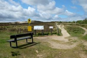 Weg über das Morsum-Kliff