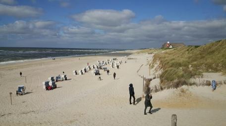 Kampener Strand bei der Sturmhaube