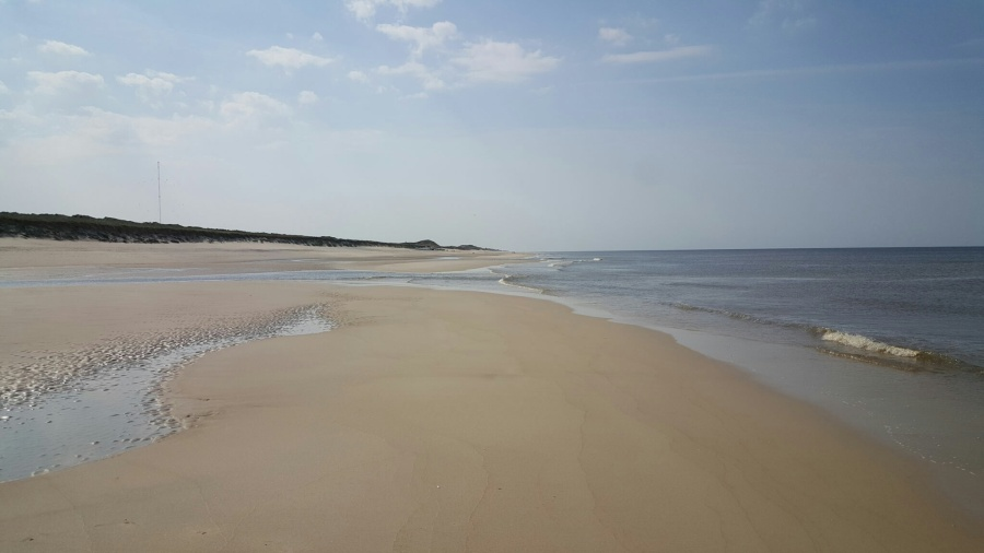 Strand bei Rantum (Blick Richtung Süden)