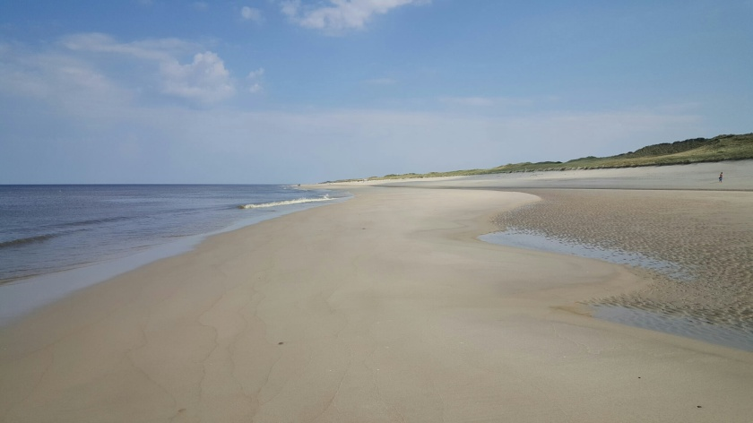 Strand bei Rantum (Blick Richtung Norden)