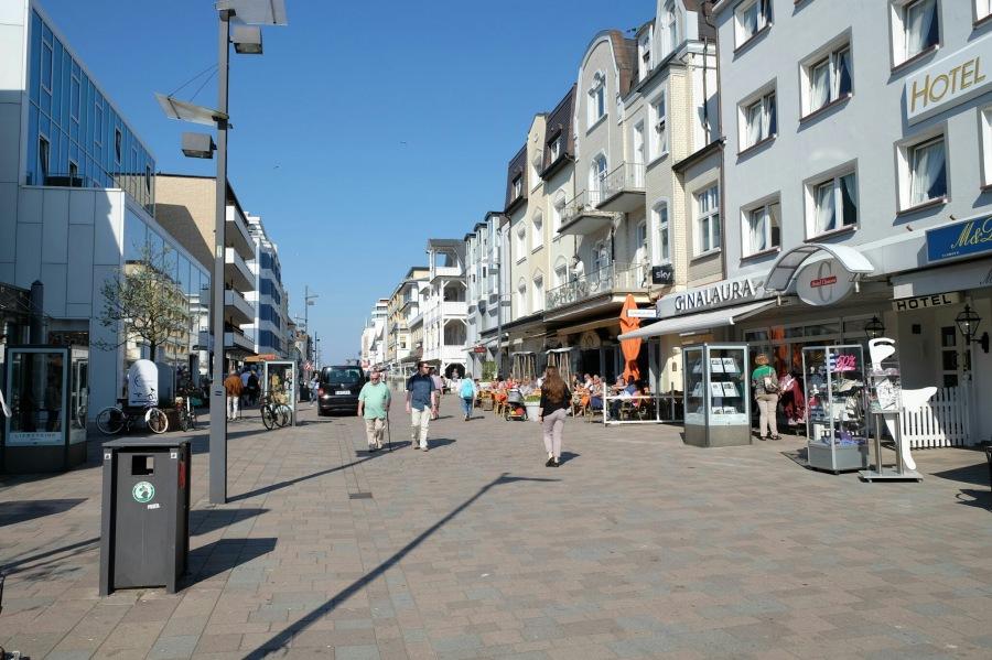 Heinrichstrasse in Westerland