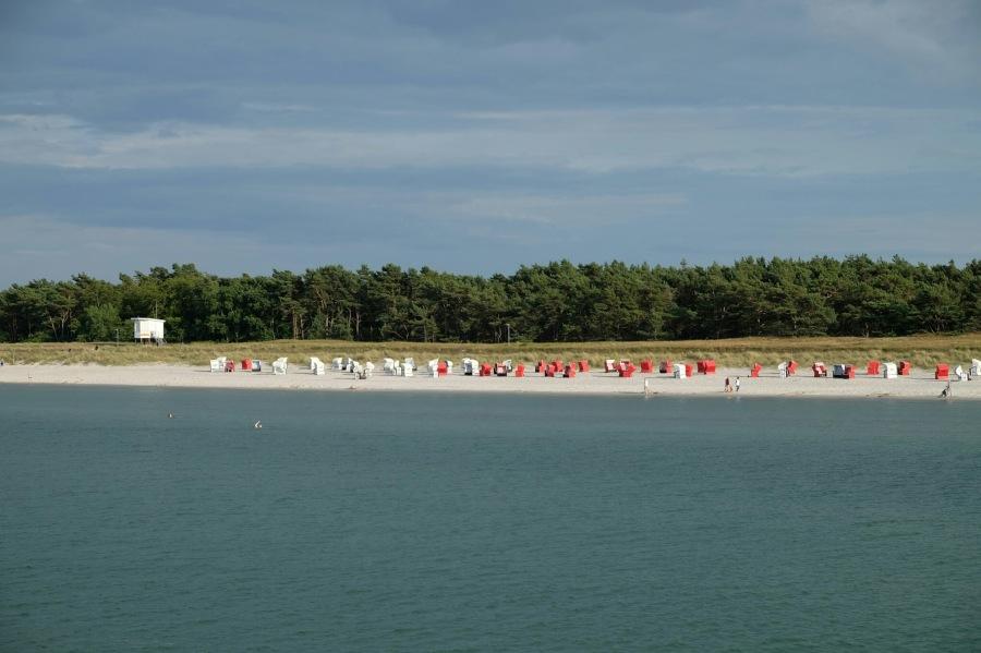 Strand bei der Prerower Seebrücke