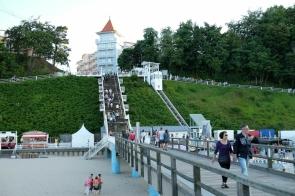 Die Himmelsleiter von der Seebrücke Sellin zur Wilhelmstrasse