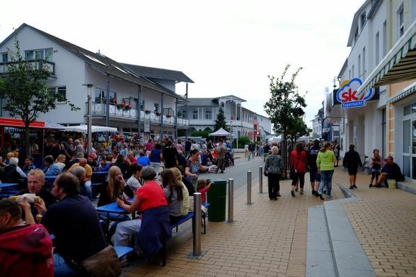 Festbetrieb in Göhren