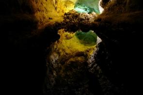 Eine Überraschung in der Cueva de los Verdes