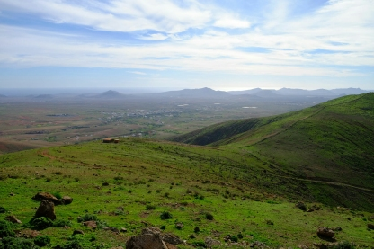 Ausblick vom Mirador Morro Velosa nach Westen