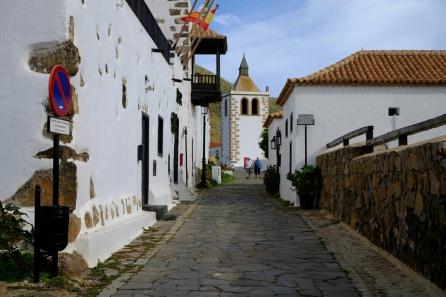 Strasse in Betancuria