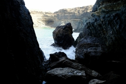 Schwarze Höhle bei Ajuy