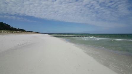 Strand bei der Hohen Düne in Prerow