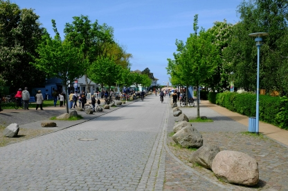 An der Strandstrasse in Wustrow