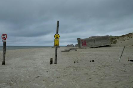Bunker am Strand von Blåvands Huk