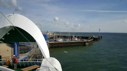 Syltfähre im Hafen von List