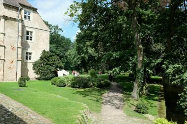 Garten des Wasserschlosses Mellenthin