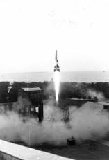 Start einer A4 vom Prüfstand VII, März 1942 (CC BY-SA 3.0 de)