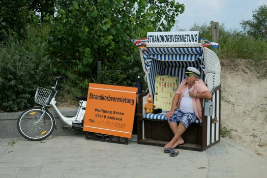 Strandkorbvermietung in Ahlbeck