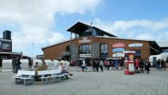 Alte Tonnenhalle am Hafen von List