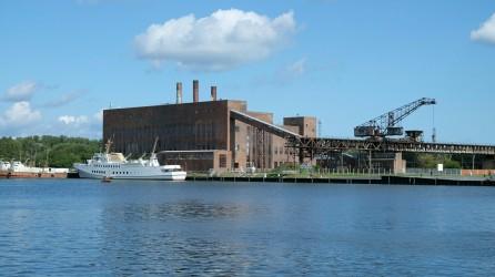 Kraftwerk der HVA im Peenemünder Hafen