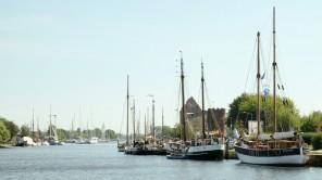 An der Ryck in Greifswald