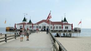 Historische Seebrücke in Ahlbeck