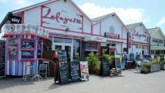 Cafés am Lister Hafen
