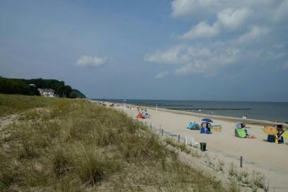 Strand in Kölpinsee