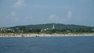 Küste und Strand in Ahlbeck