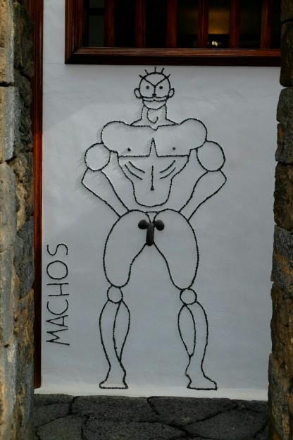 Machos (Kunstwerk von Manrique)