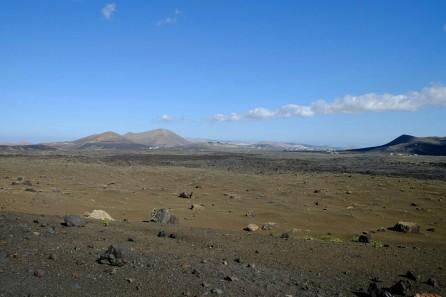 Aussicht in die Zentralregion von Lanzarote