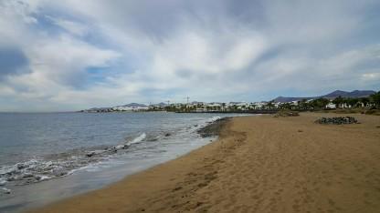 Blick von Punta Lima auf Puerto del Carmen