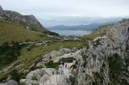 Weg zum Mirador del Mal Pas