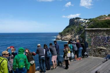 Aussicht beim Museu de la Mar