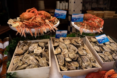 Meeresfrüchte in Saint-Malo
