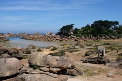 La plage Saint-Guirec