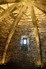 Fort La Latte - Gewölbe im Bergfried