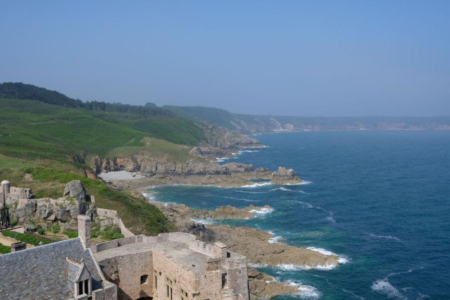 Aussicht von Fort La Latte
