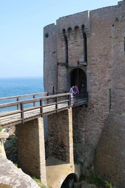 Fort La Latte - Zugbrücke Nr. 2